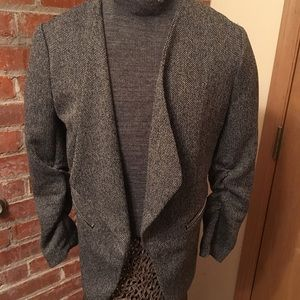 H&M Gray blazer/jacket size medium